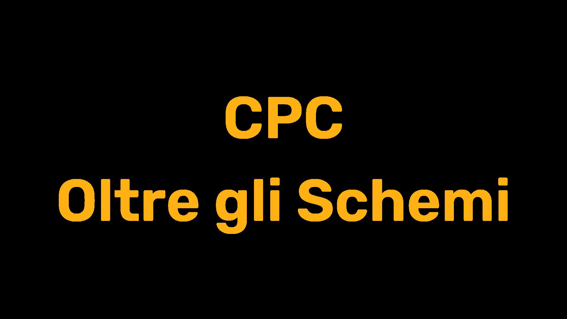 CPC Oltre gli Schemi
